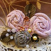 Украшения ручной работы. Ярмарка Мастеров - ручная работа Розовый букет. Handmade.