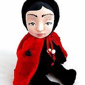 Куклы и игрушки ручной работы. Ярмарка Мастеров - ручная работа Тедди Долл Божья Коровка. Handmade.