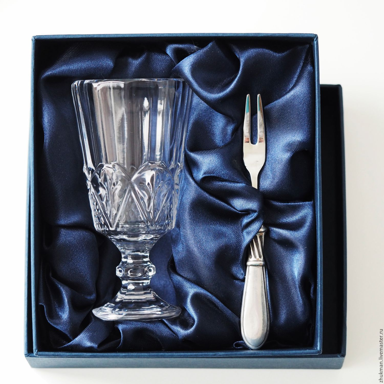 Set 'EGOIST CLASSIC PATTERNED-50' (drink and snack fork), Gifts, Zhukovsky, Фото №1