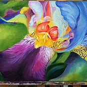 Картины и панно ручной работы. Ярмарка Мастеров - ручная работа Диковинный цветок. Handmade.