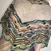 Аксессуары handmade. Livemaster - original item Shawls: Knitted shawl