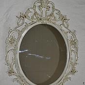Для дома и интерьера ручной работы. Ярмарка Мастеров - ручная работа Зеркало шебби-шик 2. Handmade.