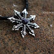 Фен-шуй и эзотерика handmade. Livemaster - original item The star of Chaos made of silver. Handmade.