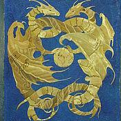 Картины ручной работы. Ярмарка Мастеров - ручная работа Драконы. Handmade.