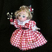 Куклы и игрушки ручной работы. Ярмарка Мастеров - ручная работа миниатюрная куколка. Handmade.