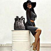 """Сумки и аксессуары ручной работы. Ярмарка Мастеров - ручная работа Кожаная сумка """" Style-2"""". Handmade."""