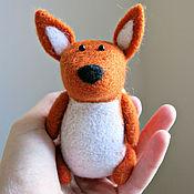 Куклы и игрушки ручной работы. Ярмарка Мастеров - ручная работа Лисенок (игрушка из шерсти). Handmade.
