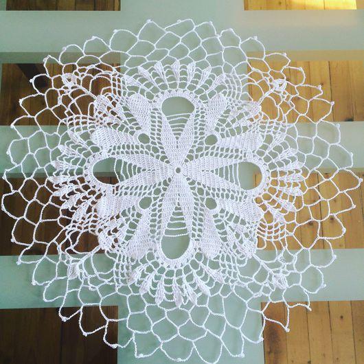 Текстиль, ковры ручной работы. Ярмарка Мастеров - ручная работа. Купить Салфетка крючком. Handmade. Салфетка, салфетка крючком