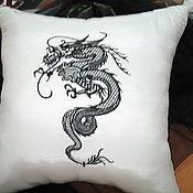 Для дома и интерьера ручной работы. Ярмарка Мастеров - ручная работа Диванная подушка. Handmade.