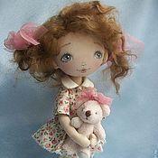 Куклы и игрушки ручной работы. Ярмарка Мастеров - ручная работа Кукла Малышка Уля. Handmade.