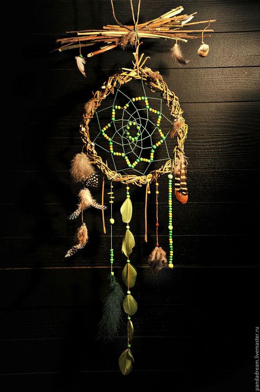 Ловцы снов ручной работы. Ярмарка Мастеров - ручная работа. Купить Ловец снов Learning to Fly. Handmade.