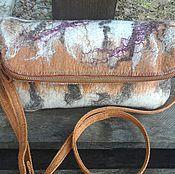 Сумки и аксессуары handmade. Livemaster - original item Clutch bag-a transformer