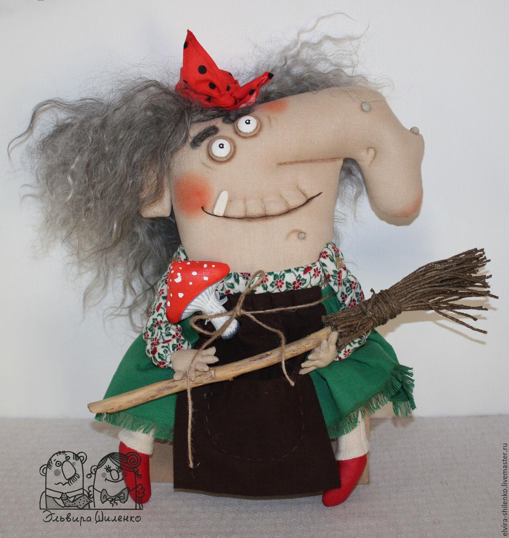 Как сделать куклу Баба Яга своими руками 80