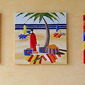 Картины и панно ручной работы. Ярмарка Мастеров - ручная работа Декоративные панно Африка. Handmade.