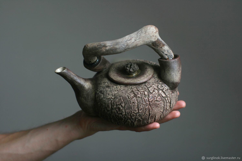 Чайник. Камень. Дерево, Чайники, Псков, Фото №1