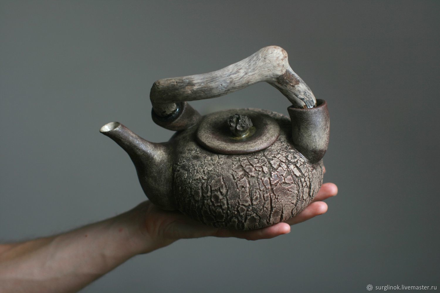 Teapot. Stone and wood, Teapots & Kettles, Pskov,  Фото №1