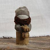 Куклы и игрушки ручной работы. Ярмарка Мастеров - ручная работа Текстильная кукла-амулет Подорожник. Handmade.