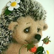 Куклы и игрушки handmade. Livemaster - original item Hedgehog Sweet Tooth. Handmade.