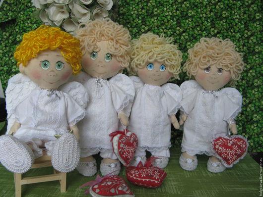 Коллекционные куклы ручной работы. Ярмарка Мастеров - ручная работа. Купить Ангел. Handmade. Белый, подарок на день рождения
