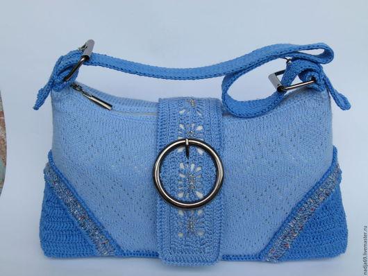 Женские сумки ручной работы. Ярмарка Мастеров - ручная работа. Купить сумочки вязаные. Handmade. Комбинированный, сумка вязаная крючком