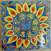 Картины и панно handmade. Livemaster - original item The series of tiles