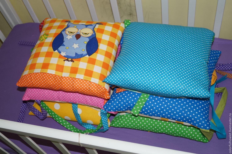 Мастер класс по пошиву бортиков подушек