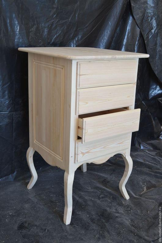 """Мебель ручной работы. Ярмарка Мастеров - ручная работа. Купить Тумба для стола в стиле """"Прованс"""". Handmade. Ручная работа, на ножках"""