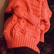 """Одежда ручной работы. Ярмарка Мастеров - ручная работа свитер -платье """"Уют и комфорт"""". Handmade."""