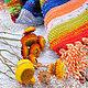 """Текстиль, ковры ручной работы. Бабушкин коврик """"Осеннее солнышко"""". Просто Счастье. Интернет-магазин Ярмарка Мастеров. Ковер, тыква"""