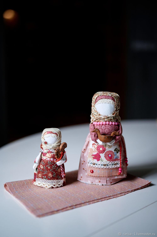 Народные куклы: Мамино счастье, Народная кукла, Обухово,  Фото №1