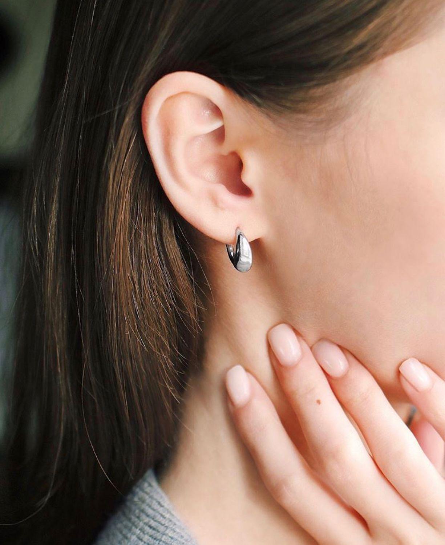Earrings silver Drops, Earrings, Kostroma,  Фото №1