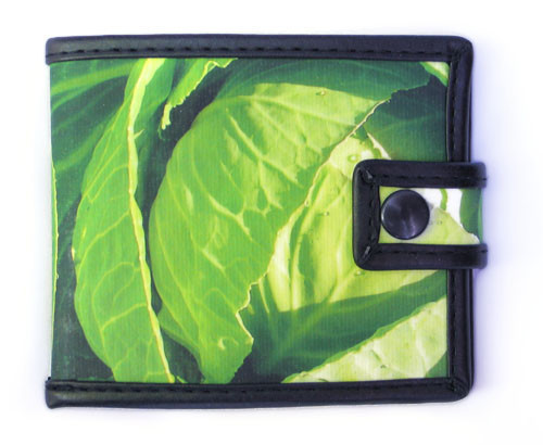 Bags & Accessories handmade. Livemaster - handmade. Buy Wallet 'Cabbage'.Green, purse, gift with humor, design nest
