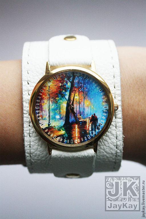 """Часы ручной работы. Ярмарка Мастеров - ручная работа. Купить Наручные часы JK """"Прогулка"""". Handmade. Наручные часы"""