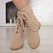 """Обувь ручной работы handmade. Livemaster - original item Shoes demi-season """"Tatiana"""". Handmade."""