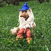 Мягкие игрушки ручной работы. Ярмарка Мастеров - ручная работа «Хранитель леса» « Эльф». Handmade.