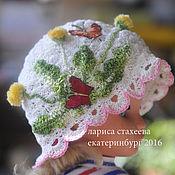 Работы для детей, ручной работы. Ярмарка Мастеров - ручная работа шапка одуванчик. Handmade.