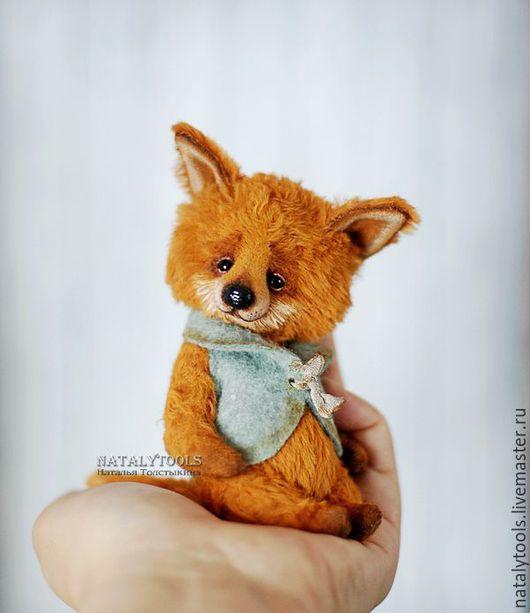 Мишки Тедди ручной работы. Ярмарка Мастеров - ручная работа. Купить Лисенок с цыпленком.  fox pup тедди лис, коллекционная игрушка. Handmade.