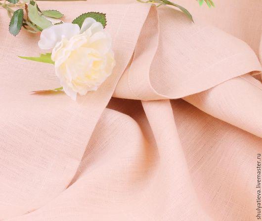 """Текстиль, ковры ручной работы. Ярмарка Мастеров - ручная работа. Купить Скатерть льняная """"Ваниль"""". Handmade. Кремовый, скатерть бежевая"""