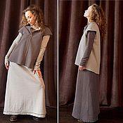 Одежда ручной работы. Ярмарка Мастеров - ручная работа Платье трансформер из двустороннего трикотажа. Handmade.