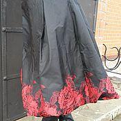 """Одежда ручной работы. Ярмарка Мастеров - ручная работа Юбка """"Красные розы"""". Handmade."""