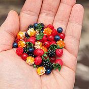 Материалы для творчества handmade. Livemaster - original item Mini berries. Handmade.