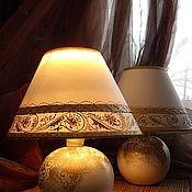 Для дома и интерьера ручной работы. Ярмарка Мастеров - ручная работа Светильники прикроватные. Handmade.