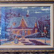 Картины и панно ручной работы. Ярмарка Мастеров - ручная работа волшебная зима. Handmade.