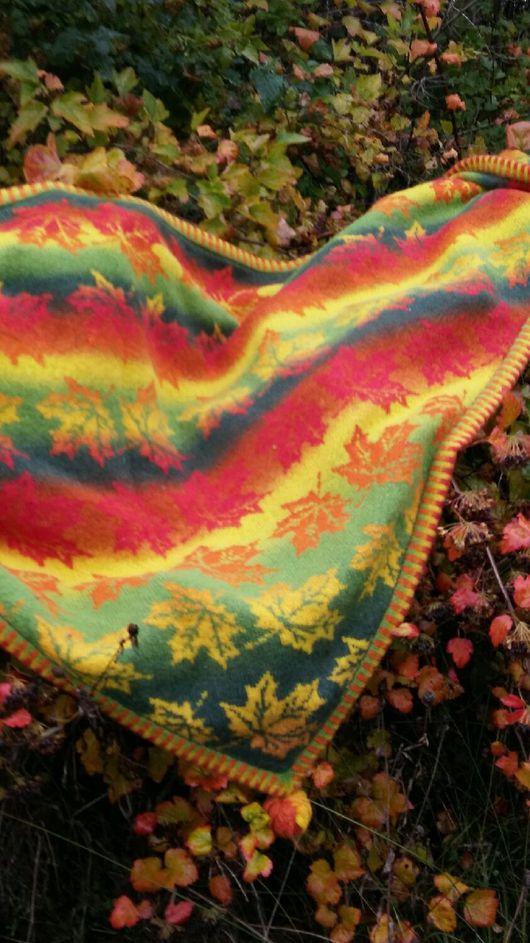"""Шали, палантины ручной работы. Ярмарка Мастеров - ручная работа. Купить Эко-шаль """"Листопад"""". Handmade. Подарок женщине, Кауни"""