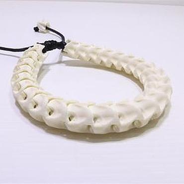 Decorations handmade. Livemaster - original item Bracelet from the spine of the snake. Handmade.