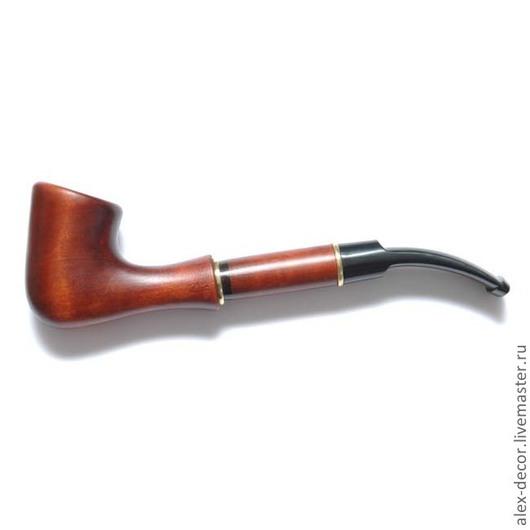 Подарки для мужчин, ручной работы. Ярмарка Мастеров - ручная работа. Купить Курительная трубка  Tea-11021-3. Handmade. Трубка