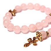 Фен-шуй и эзотерика handmade. Livemaster - original item Orthodox rosary of rose quartz