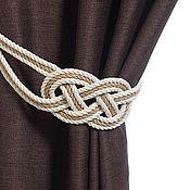 Материалы для творчества handmade. Livemaster - original item Tiebacks Atlanta 3 cord. Handmade.