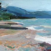 Картины и панно handmade. Livemaster - original item Picture. Primorskoye. The beach. Handmade.