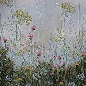 """Картины и панно ручной работы. Ярмарка Мастеров - ручная работа """" Дышу весной """". Handmade."""